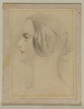 Portrait head of Queen Victoria (?)