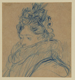 Sketch for a portrait of a lady