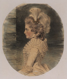 Portrait of Miss Charlotte Monro