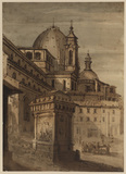 View of San Lorenzo in Florence