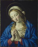 Virgin in prayer