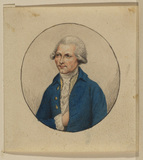 Miniature portrait of a man