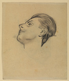 Portrait head of Johannes Wilde (?) (recto and verso)