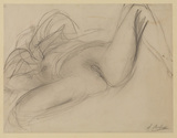 Recumbent female nude