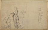 Study for 'Psyche and Venus' (Royal Institution, Liverpool) (recto)