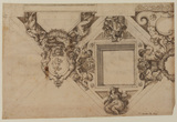 Design for ceiling decoration (recto)