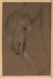 Study of a man's hand