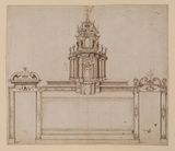 Design for a ciborium and screen