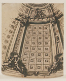 Design for the decoration of the dome of Saint Paul's, London (recto)