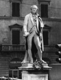 Commemorative statue of Carlo Goldoni