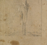 Study for Christ on the Cross (lower half) (verso)