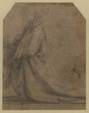 Study for Saint Mary Magdalene (verso)