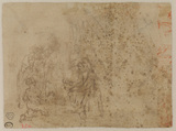 Group of figures, different composition (verso)