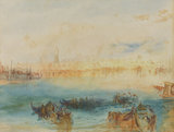 Copy after J.M.W. Turner's 'Venice, the Riva degli Schiavoni from the Channel to the Lido' (recto)