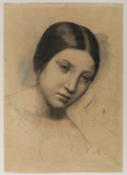 Head of a young woman - La Mariee