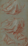 Four studies of drapery
