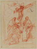 Christ on the Cross with Virgin, Magdalen and Saint John