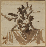 Two cupids (recto)