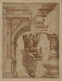 Studies of details of the Arch of Titus