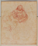 Study for Holy Family (verso)