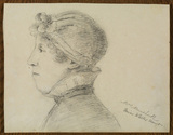 Portrait of Mrs Marshall, Mrs White's aunt