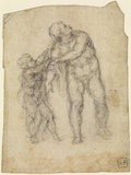 Aeneas and a Child (recto)