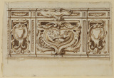Design for an altar frontal, San Filippo Neri