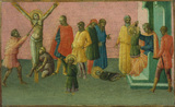 Martyrdom of the saints (right panel)