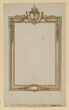 Design for a mirror frame