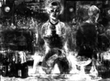 X-ray of 'A Bar at the Folies-Bergère'