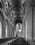 The nave, facing east, Durham Cathedral
