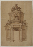 Design for a tomb to Doge Giovanni Cornaro