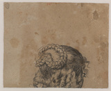 Head of a woman (verso)