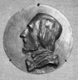Memorial Medallion for Vacquerie
