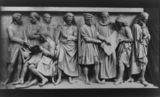 Model for the Albert Memorial podium relief, musicians