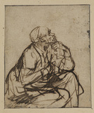 Man seated
