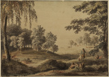 Landscape with trees - Windsor Park (?)