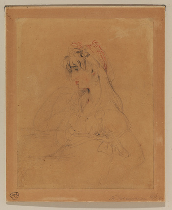 Portrait of Miss Sally Siddons