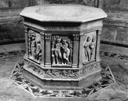 Siena Cathedral;Font