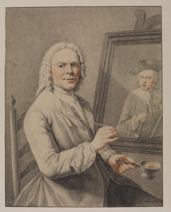 Portrait of Jan Maurits Quinckhardt