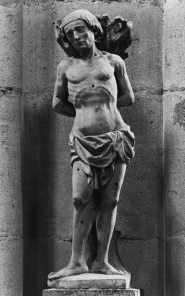Statue of Saint Sebastian
