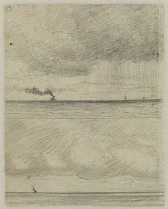 Two seascapes (verso)