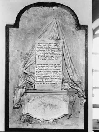 Monument to William Stapelton