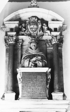 St Leonard;Monument to Sir George Croke