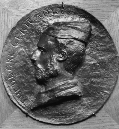 Medallion of Theodore Gericault