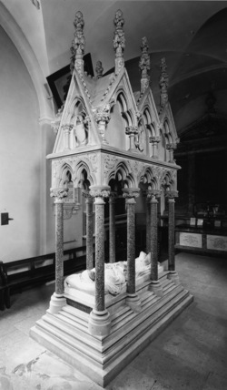 Margam Abbey;Tomb of Theodore Mansel Talbot