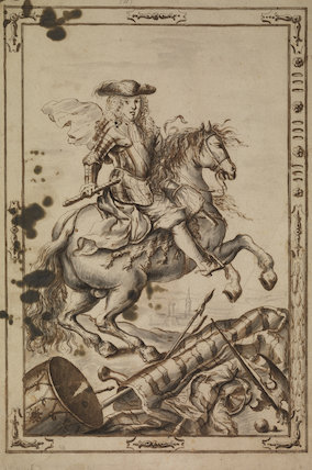 Equestrian portrait of Luis I of Spain
