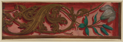 Fragment of an illuminated border (recto)