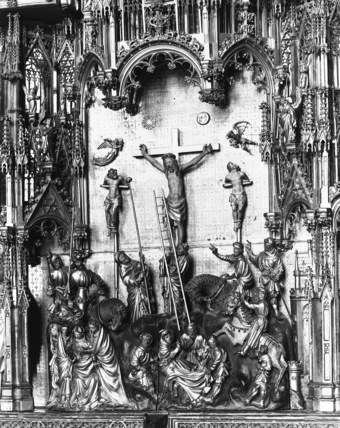 Crucifixion retable