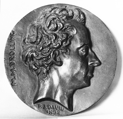 Medallion of Michel Martin Drolling